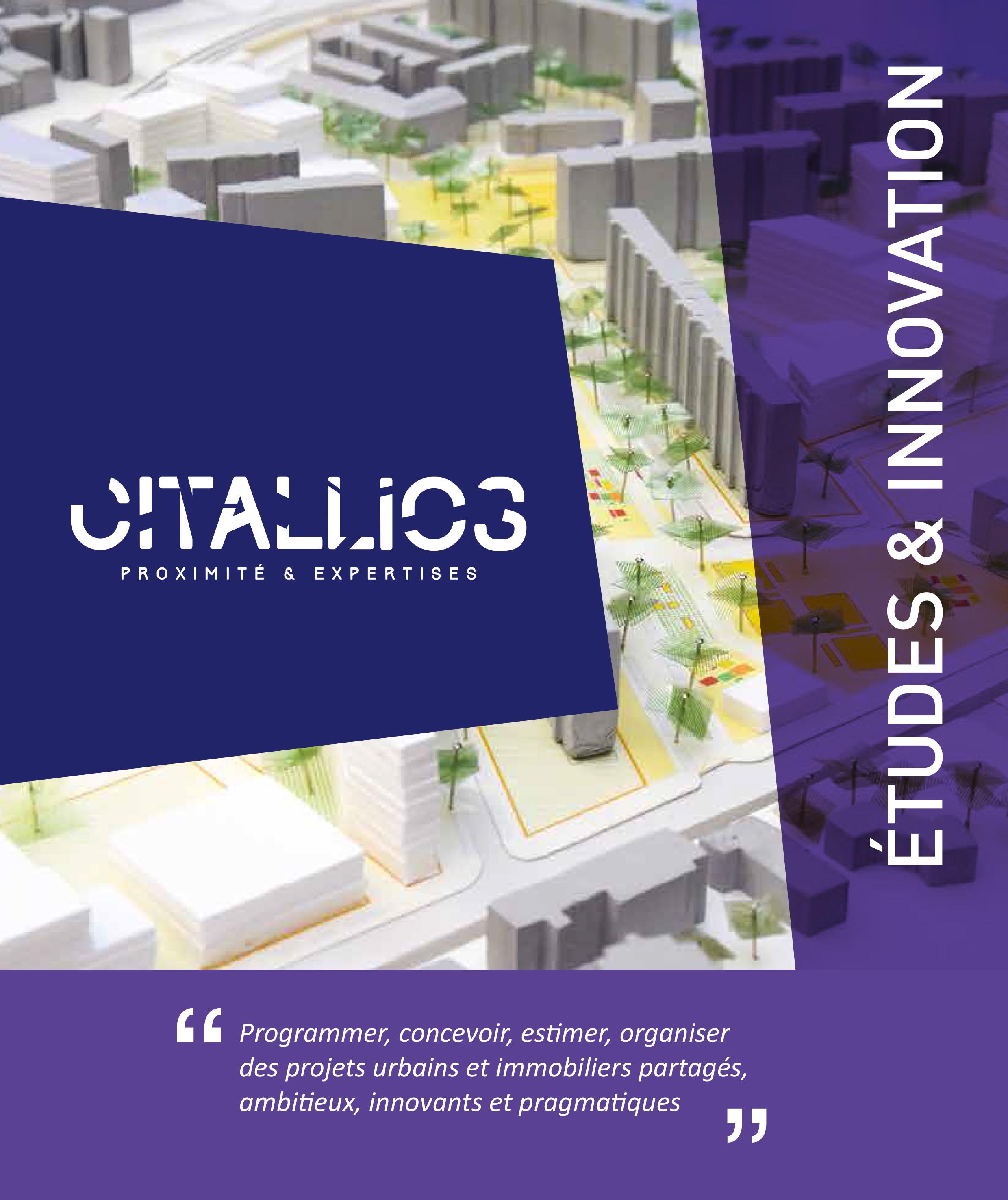 Plaquette Etudes & Innovation